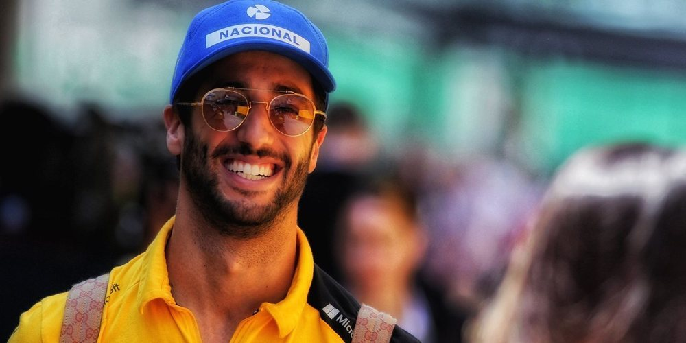 "Daniel Ricciardo: ""Deseo renovar mi contrato con Renault"""