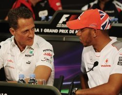 Campeón vs. Campeón: Lewis Hamilton vs. Michael Schumacher