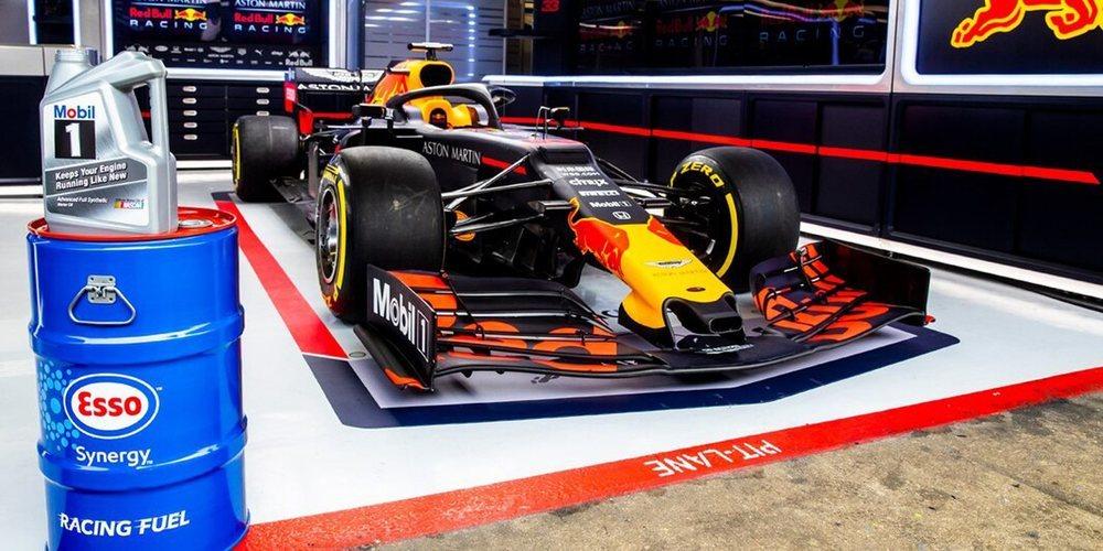 Red Bull y ExxonMobil llegan a un acuerdo para ampliar su alianza más allá de 2020