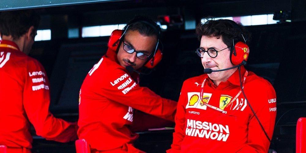 """Mattia Binotto: """"La competencia en la Fórmula 1 nunca ha sido tan fuerte como lo es hoy en día"""""""