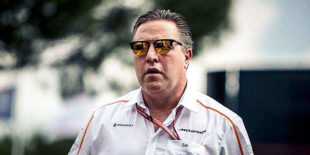 Zak Brown asegura que Renault ha sido crucial en la recuperación de McLaren