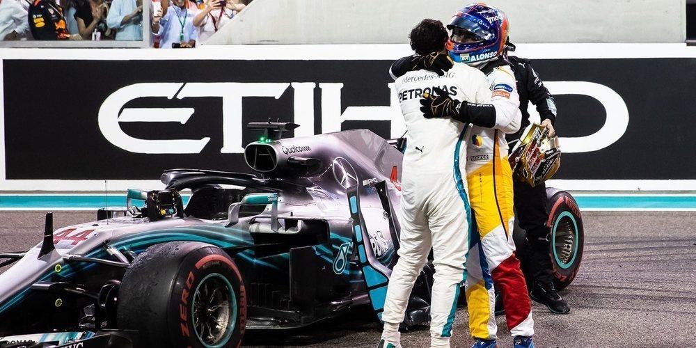 """Fernando Alonso: """"Estaría bien competir contra Hamilton en una lucha justa"""""""