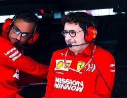 Mattia Binotto asegura que para Ferrari es una ventaja contar con la dupla Vettel-Leclerc