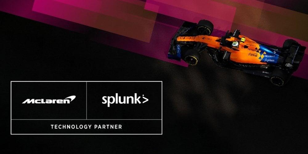 OFICIAL: McLaren anuncia su asociación con Splunk