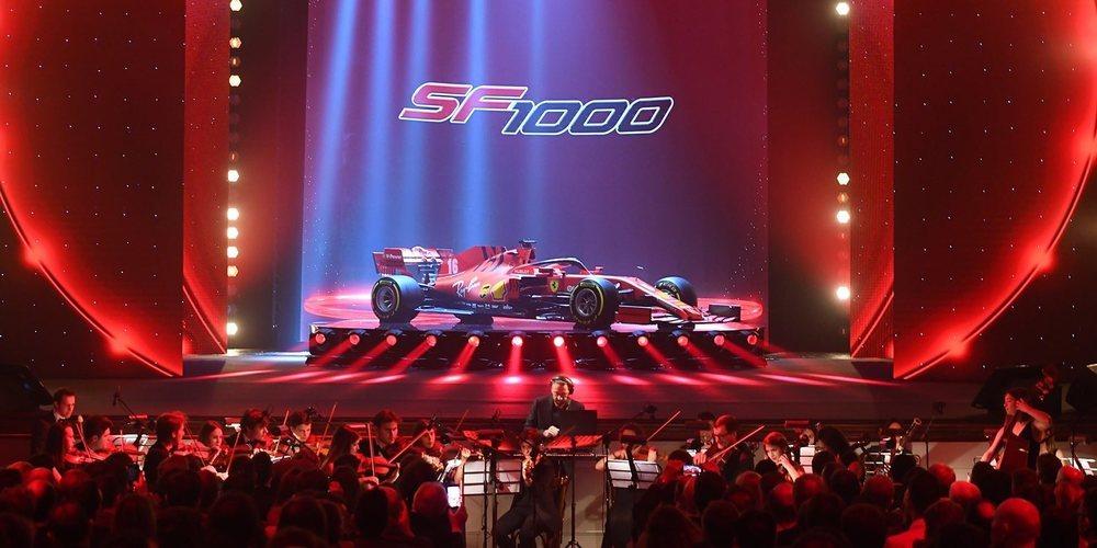 Ferrari presenta su monoplaza para 2020: el SF1000