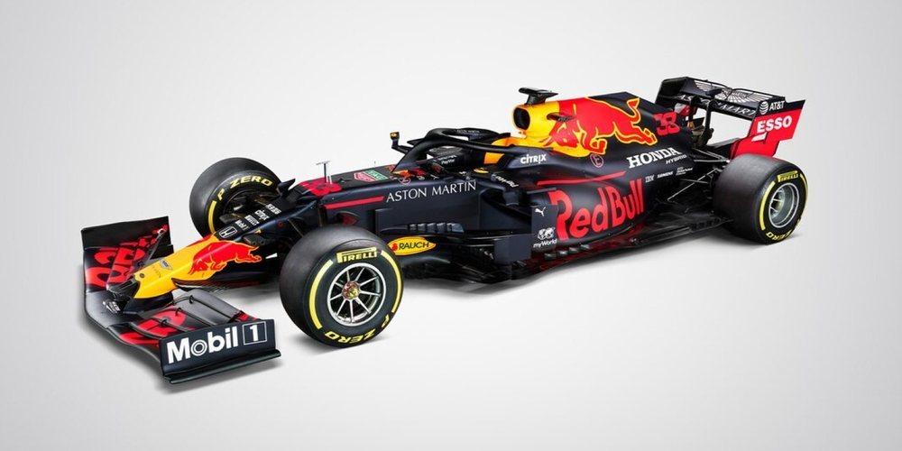 Red Bull presenta su nuevo monoplaza para 2020: el RB16