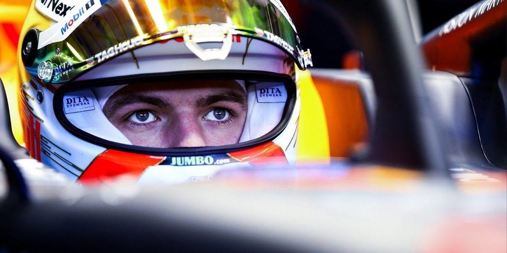 Max Verstappen presenta su nuevo casco para la temporada 2020