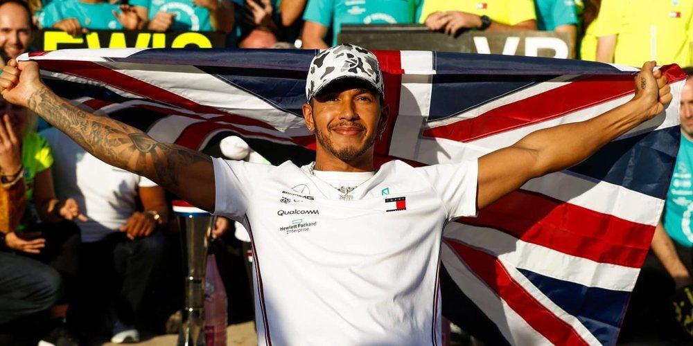 """Lewis Hamilton, cauto de cara a 2020: """"Tenemos mucho trabajo por delante"""""""