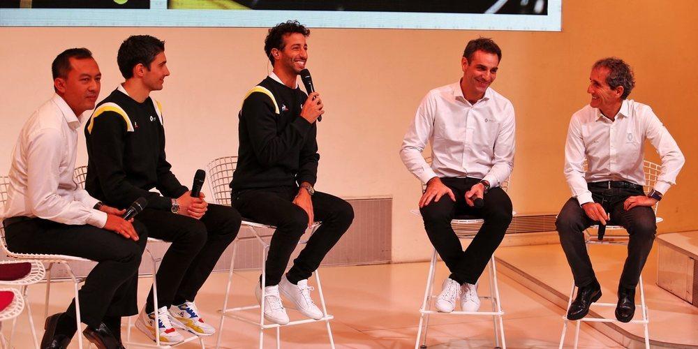 Renault no mostró el RS20 en su presentación porque aún no está listo, explica Abiteboul