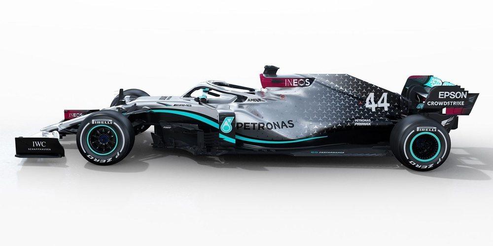 Mercedes presenta su monoplaza para 2020: el W11