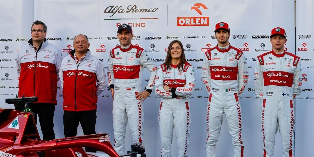 OFICIAL: Alfa Romeo sigue confiando en Tatiana Calderón para que continúe como piloto de pruebas