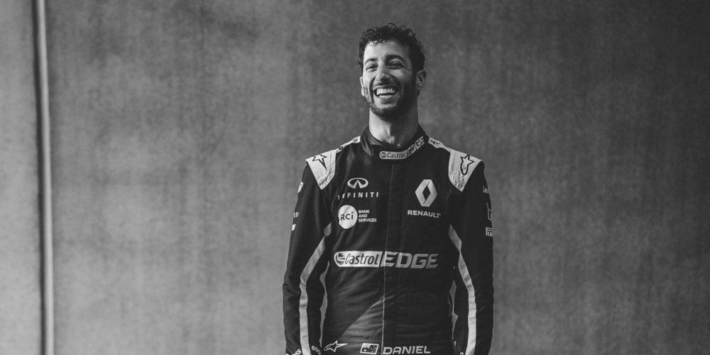 """Ricciardo y su segunda jornada de test: """"Estoy contento con el trabajo que hemos realizado"""""""