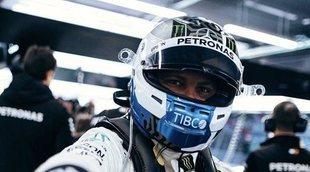 Mercedes enseña sus cartas en el tercer día de test bajo el mandato de Valtteri Bottas
