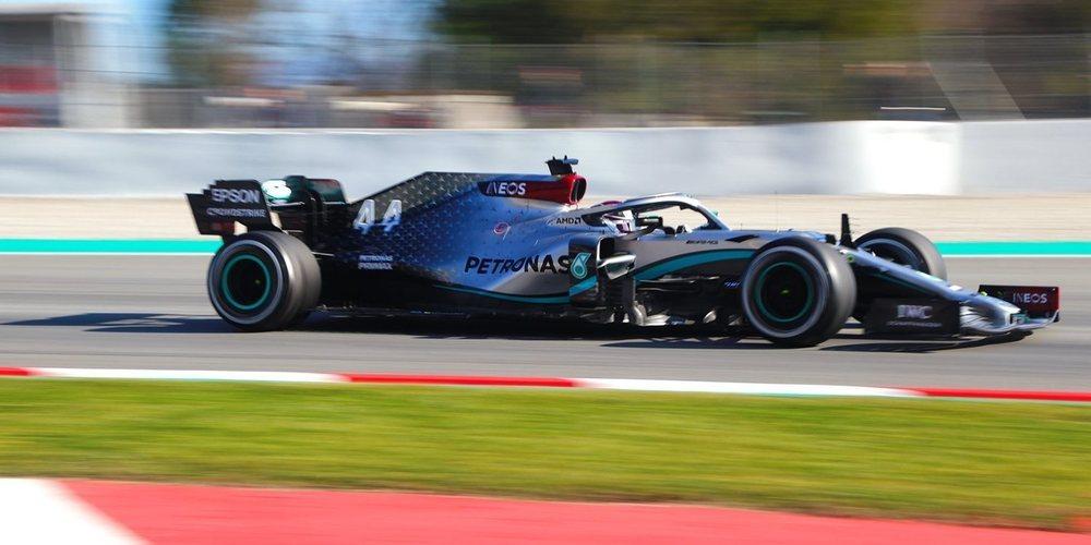 """Lewis Hamilton: """"Hoy he sentido que había menos agarre en el monoplaza"""""""