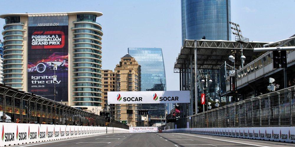 La organización aplaza el GP de Azerbaiyán 2020