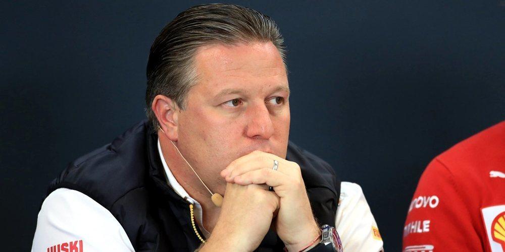 Zak Brown confía en que la Fórmula 1 pueda regresar en verano