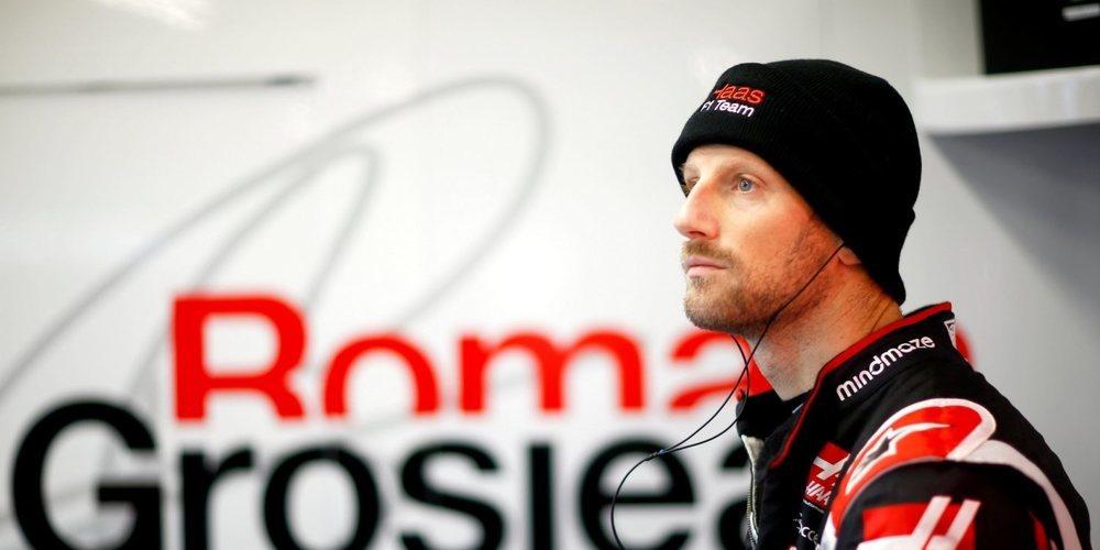 """Romain Grosjean: """"Debo tomar en serio las palabras de Gene, pero creo que continuaremos"""""""