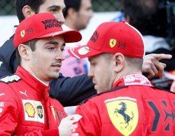 """Charles Leclerc, sobre Vettel: """"Estoy muy bien con él a mi lado, pero respetaría la decisión de Ferrari"""""""