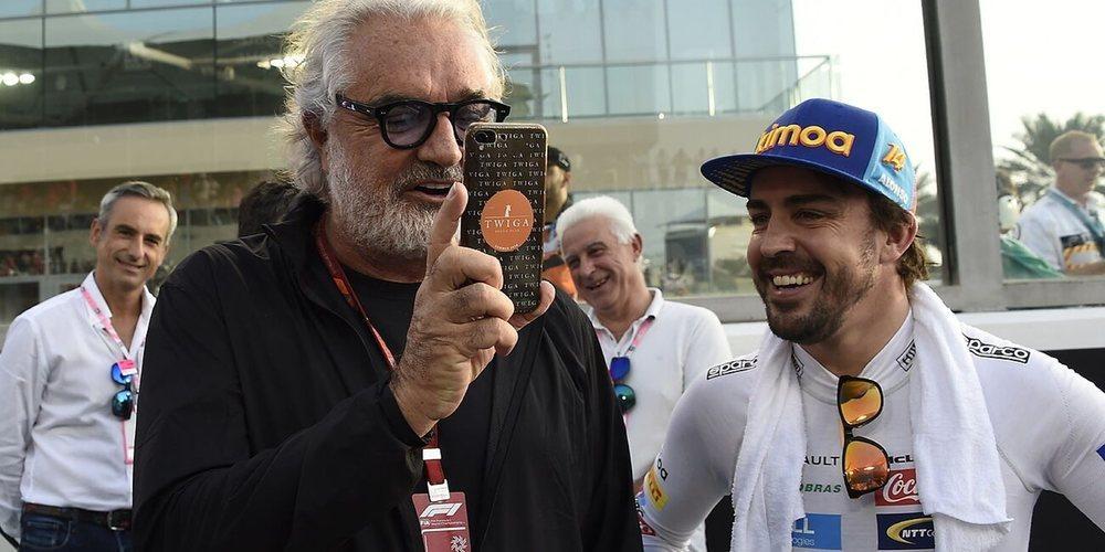 "Flavio Briatore: ""Ferrari le debía todo a Fernando Alonso"""