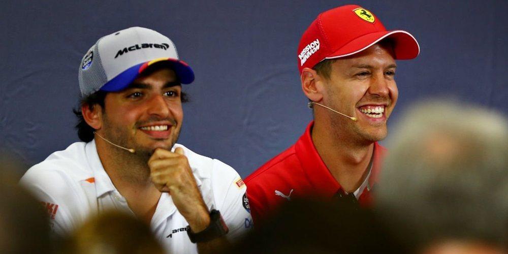 ¿Vettel a McLaren y Sainz a Ferrari en 2021? Desde Alemania no descartan un intercambio
