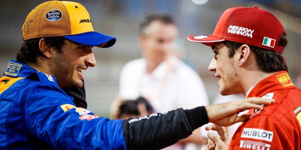 "Karun Chandhok augura una gran dupla Leclerc-Sainz en Ferrari: ""Trabajarán bien juntos"""