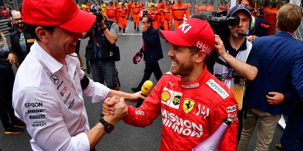 """Toto Wolff reconoce su interés por Vettel: """"No podemos decirle inmediatamente que no"""""""