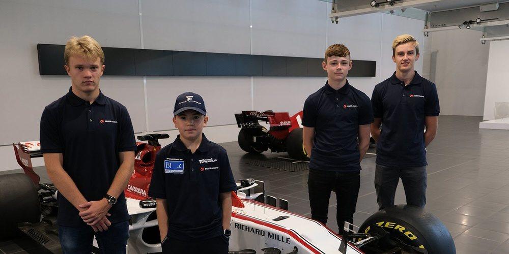 Sauber Motorsport lanza su propia academia de jóvenes pilotos a partir de esta temporada
