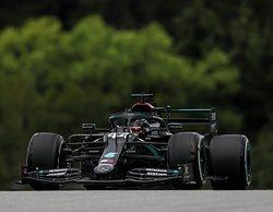 Los Mercedes de Hamilton y Bottas empiezan a meter miedo en los Libres 1 del GP de Austria