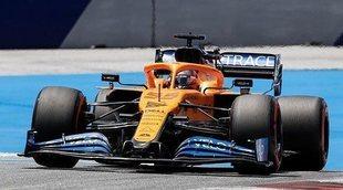 """Sainz: """"Ha sido un buen día para el equipo; podemos estar contentos con el ritmo del coche"""""""