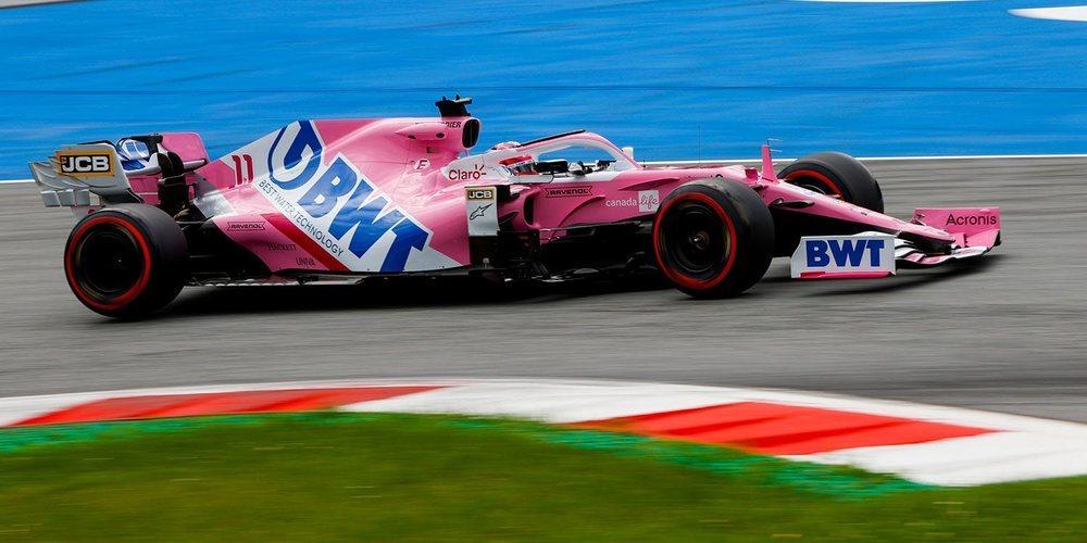 """Sergio Pérez: """"Estoy seguro para mañana porque nuestro ritmo de carrera debería ser competitivo"""""""