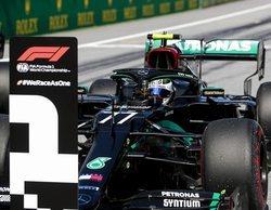 Valtteri Bottas avisa a Hamilton en la confirmación de McLaren