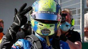 """Norris: """"Estamos contentos con el podio; hemos comenzado la temporada con un gran resultado"""""""