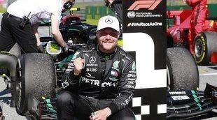 """Valtteri Bottas: """"Ganar una carrera nunca es fácil, pero hoy fue especialmente un reto"""""""
