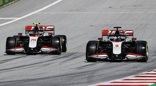 """Steiner, sobre la falta de competitividad del motor Ferrari y la avería de los frenos: """"No me lo esperaba"""""""