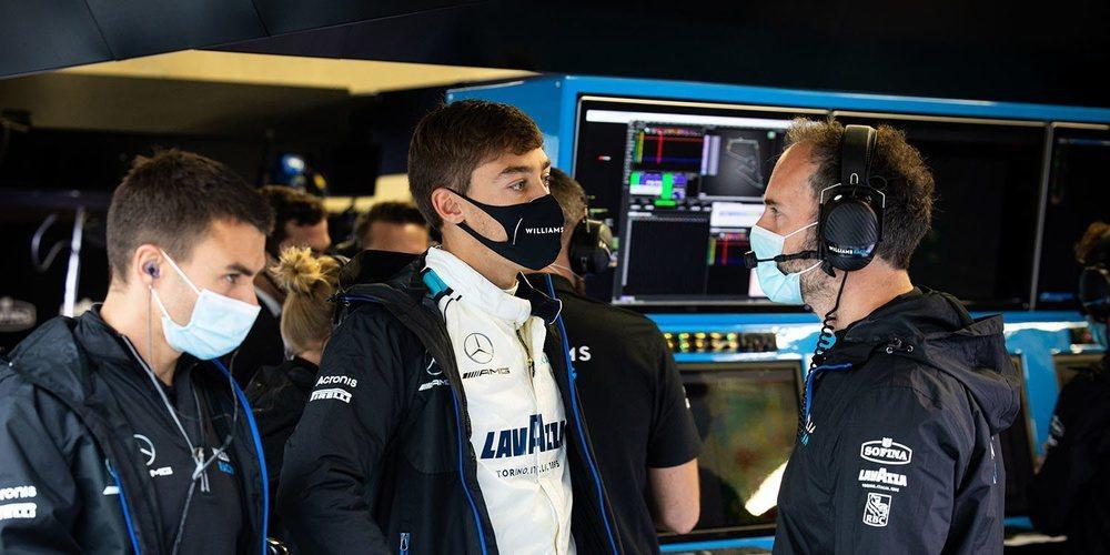 """Russell: """"Si alguien me hubiera dicho que estaríamos a una décima de Q3, no le hubiese creído"""""""