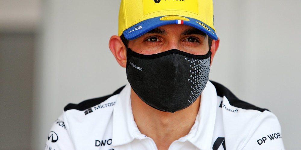 """Esteban Ocon: """"Estoy contento por poner el coche en quinta posición"""""""