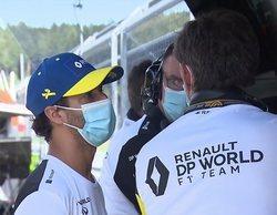 """Daniel Ricciardo, sobre el incidente con Stroll en Estiria: """"No ha sido un adelantamiento limpio"""""""