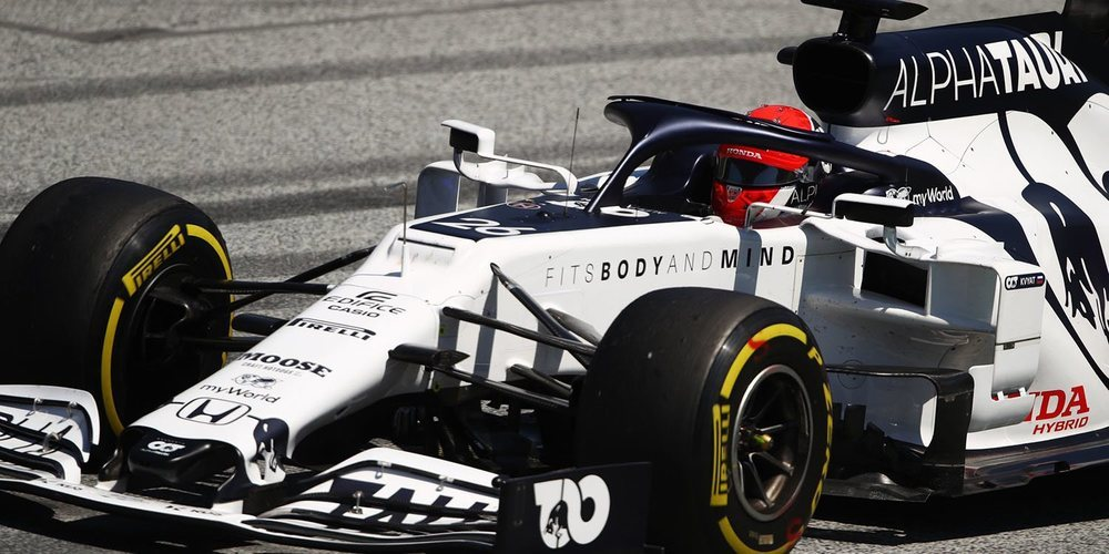 """Kvyat: """"Necesito revisar la carrera para entenderla mejor, sentí que los puntos eran posibles"""""""