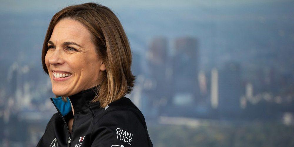 """Claire Williams, sobre Russell: """"Me gustaría que se convirtiera en campeón del mundo con Williams"""""""