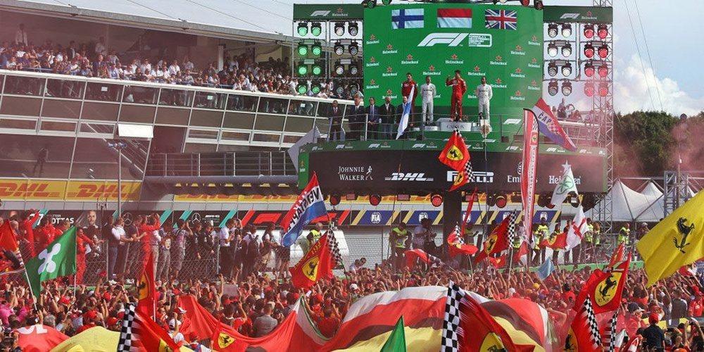 Los organizadores del GP de Italia confirman que la carrera de Monza será sin aficionados