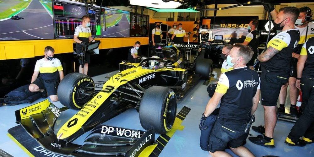 """Daniel Ricciardo: """"Nos ha faltado consistencia en el coche hoy, así que trabajaremos en ello"""""""
