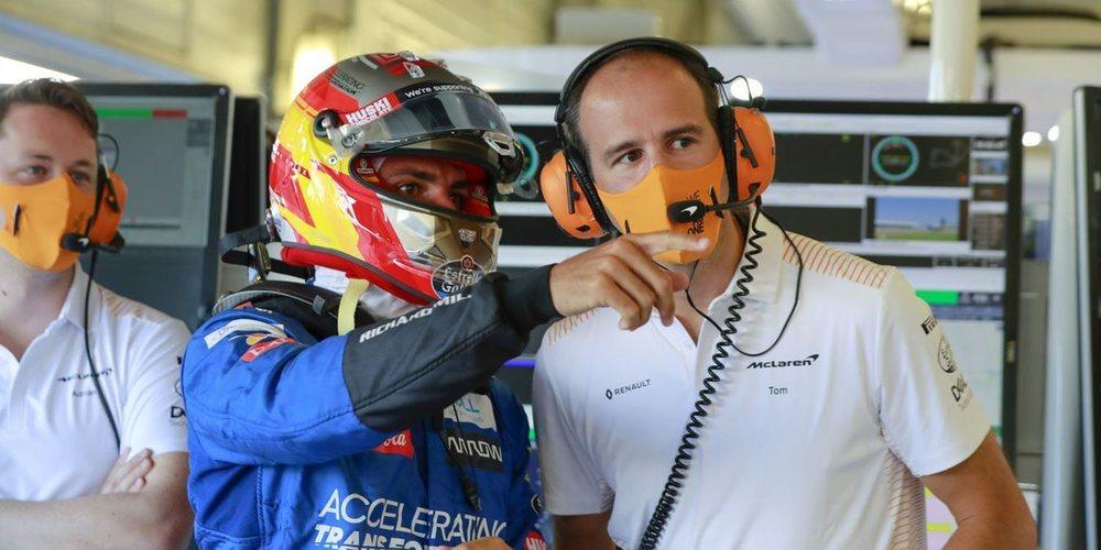 """Sainz: """"Nuestros tiempos parecen competitivos, pero esperaremos para ver dónde estamos"""""""
