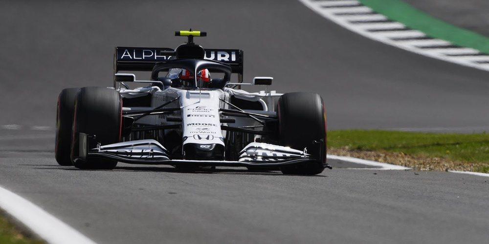 """Gasly: """"Estoy contento con la clasificación porque hemos igualado el tiempo de un Racing Point """""""