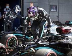 """Lewis Hamilton: """"Después del trompo, he respirado fuerte y me he recompuesto para la Q3"""""""
