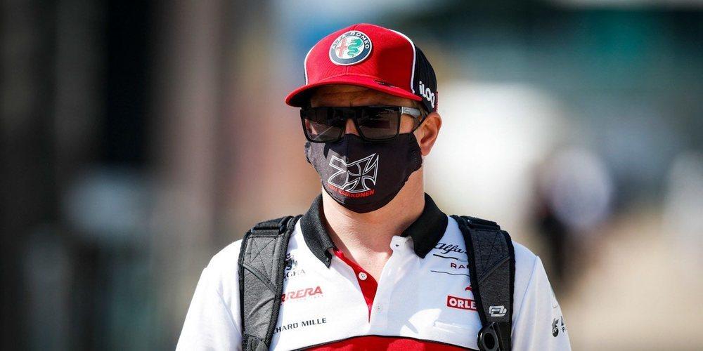 """Kimi Räikkönen: """"Deberíamos estar luchando por un lugar entre los diez primeros"""""""