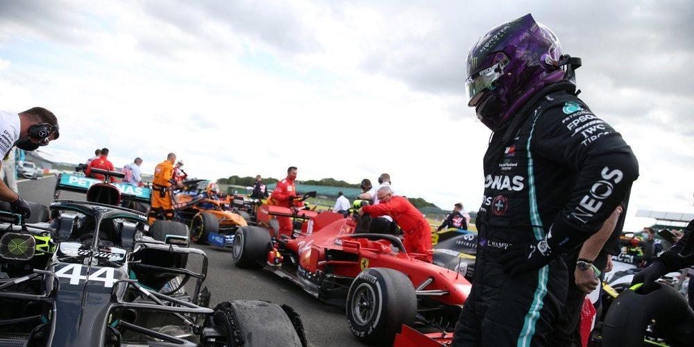 Pirelli confirma el motivo de los pinchazos en la pasada carrera del Gran Premio de Gran Bretaña
