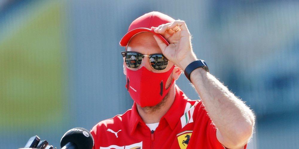 """Sebastian Vettel: """"Siempre llegamos al circuito, corremos y nos vamos, pero yo me quedo aquí"""""""