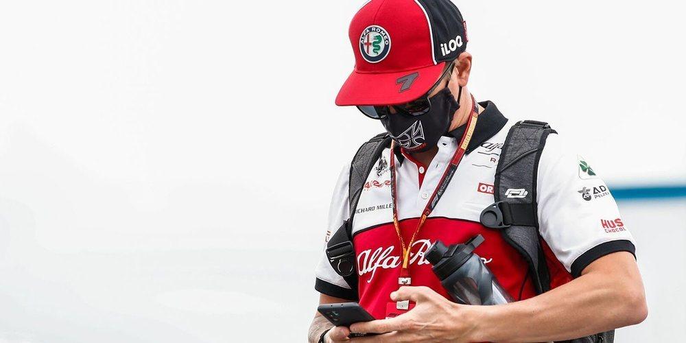 """Räikkönen: """"Si optimizamos el ritmo y no tenemos problemas en carrera, podemos llegar al Top 10"""""""