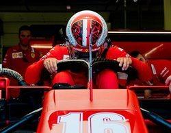 """Charles Leclerc: """"El equilibrio del coche parece bueno; el ritmo no ha sido el mejor con el Medio"""""""