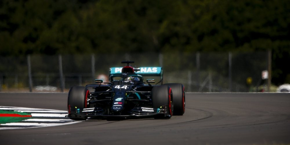 "Lewis Hamilton: ""Ha sido un buen comienzo de fin de semana"""